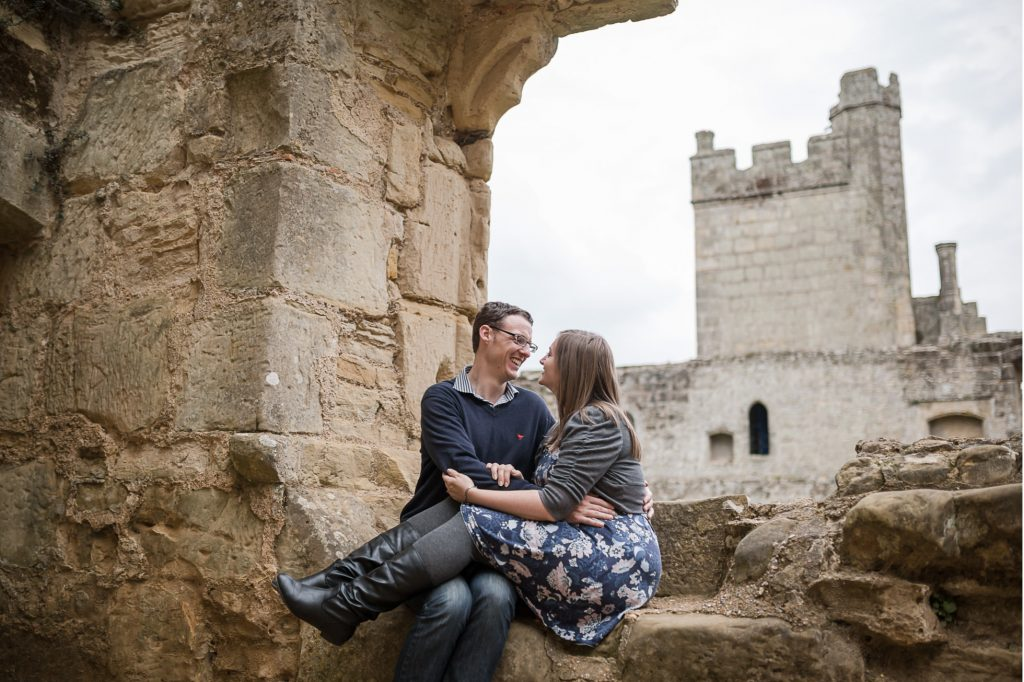 Engagement | Bodiam Castle – East Sussex | Sarah & Tom