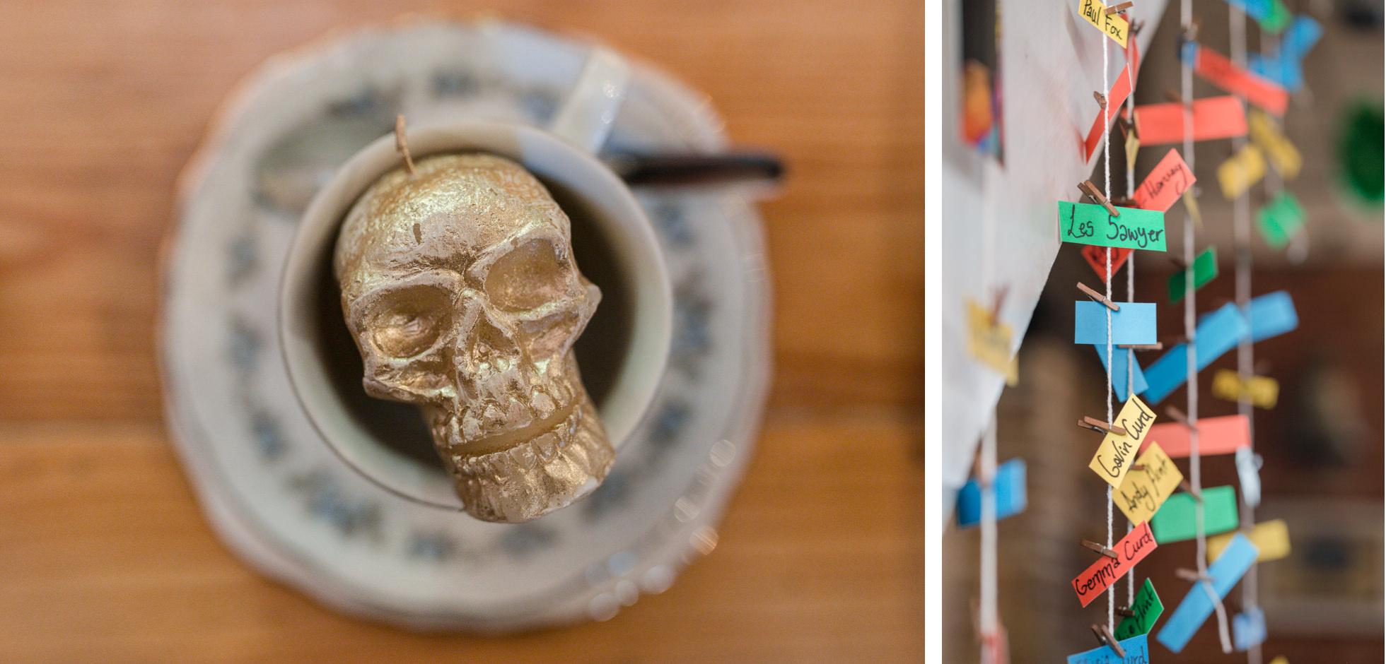 wedding skull