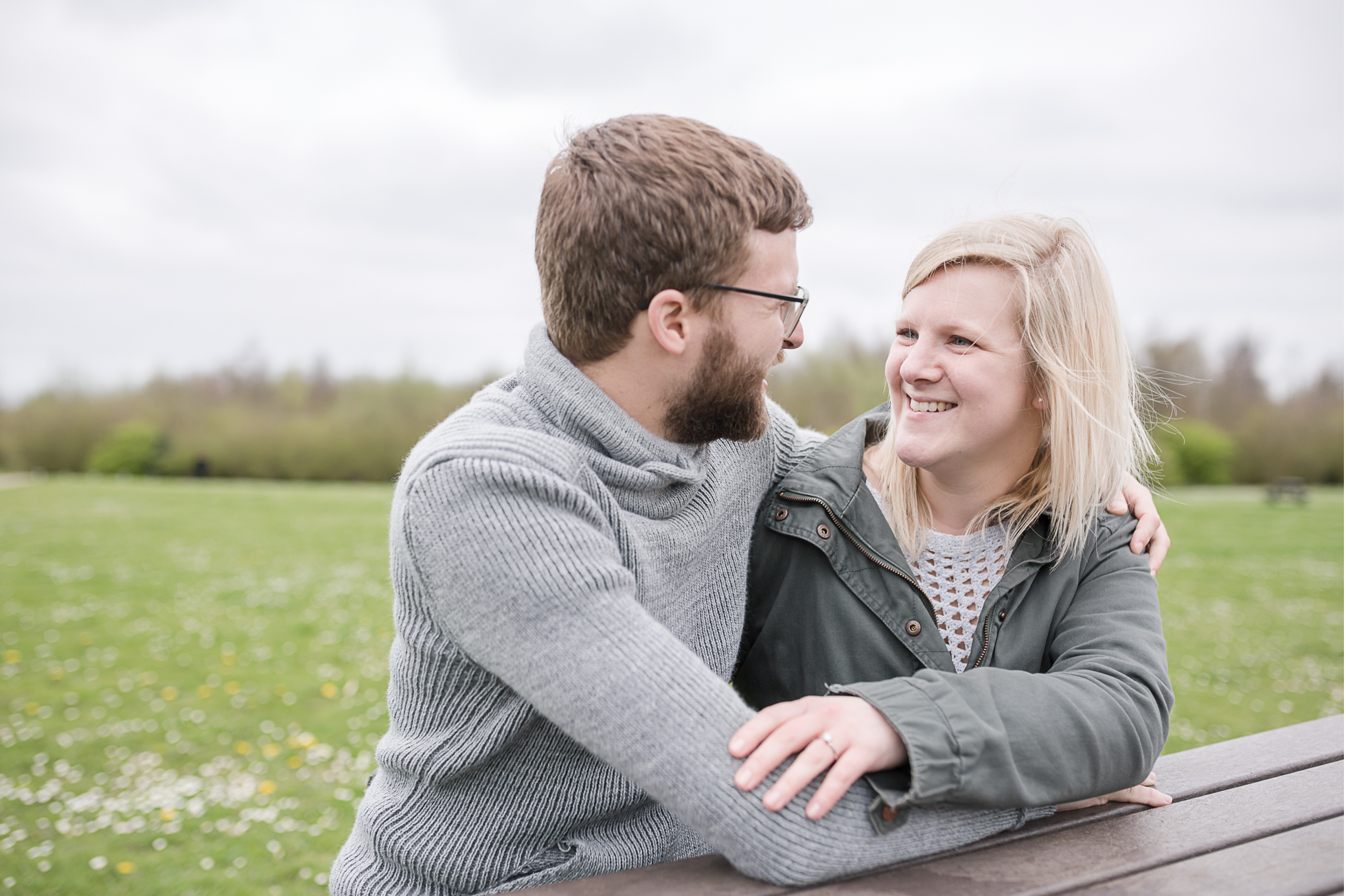 Kent engagement shoot