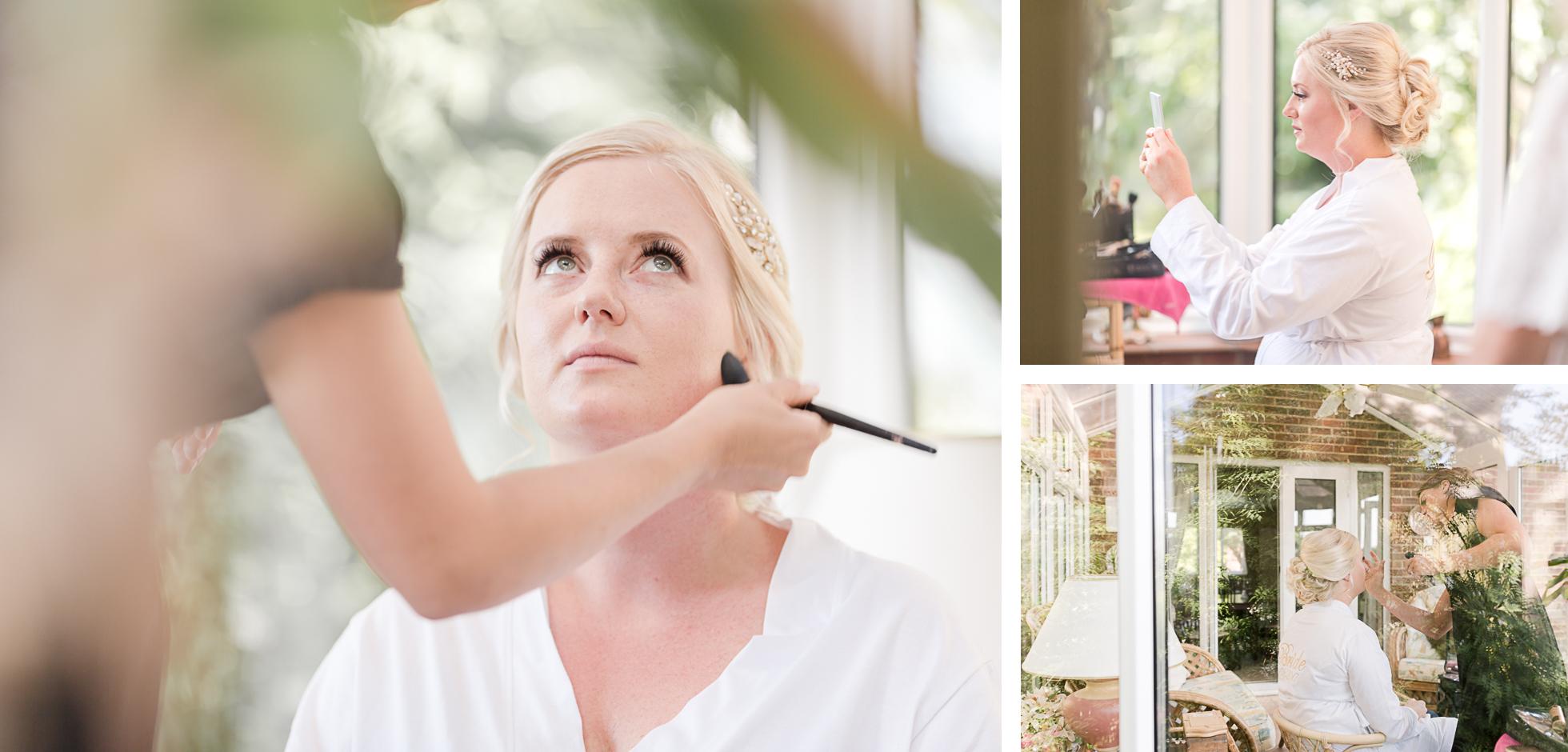 Wedding makeup Kent