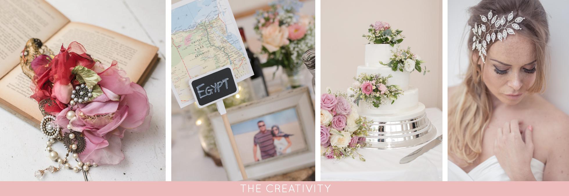 creative wedding decor and details