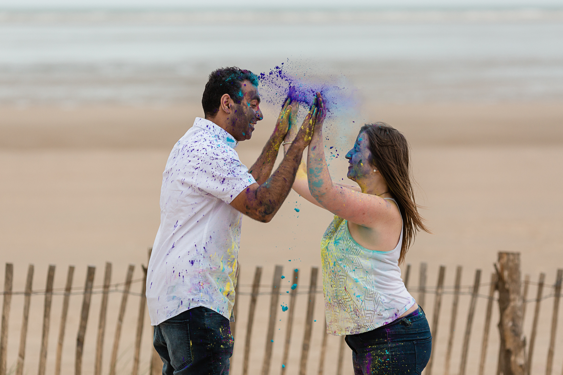 holi engagement session