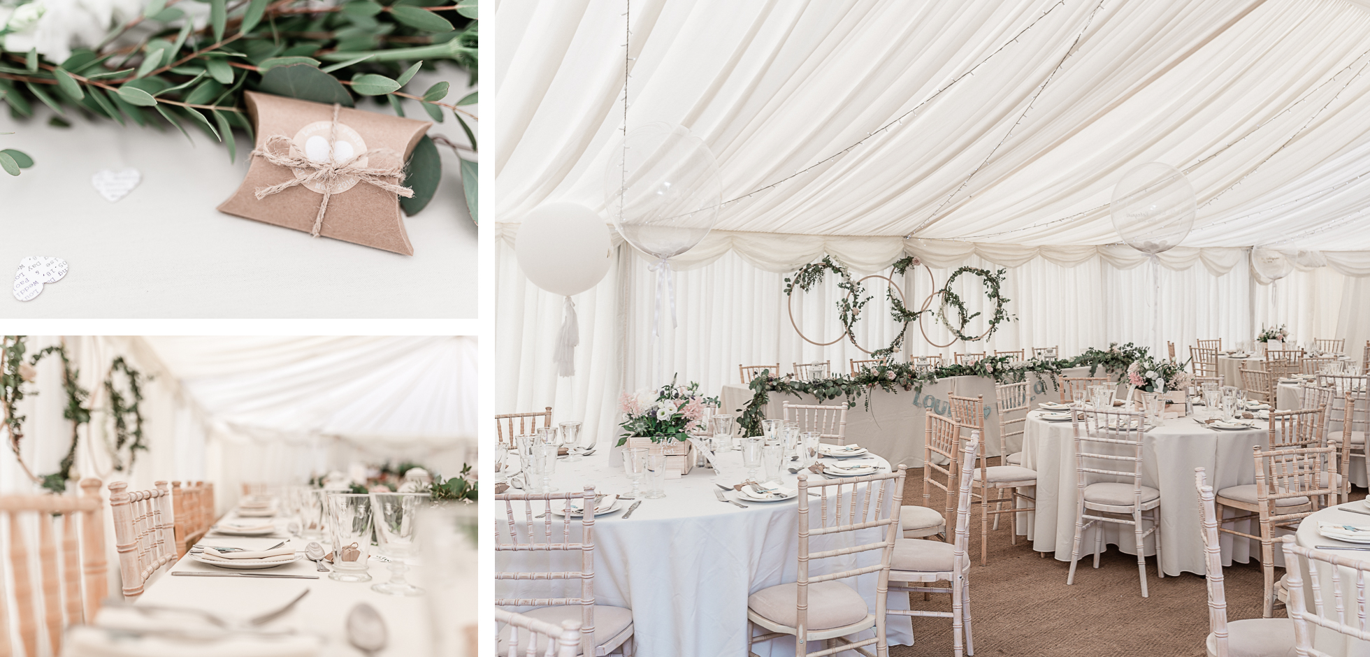 secret garden mersham wedding