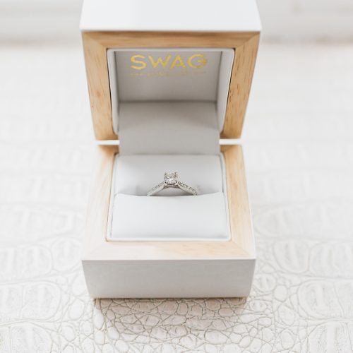 swag engagement ring